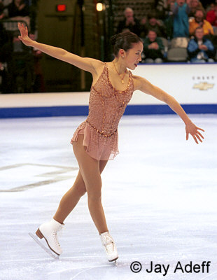 The squirting Michelle kwan upskirt